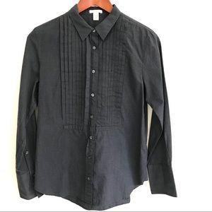 J. Crew Cotton Tuxedo Shirt, Chambray blue, NWOT